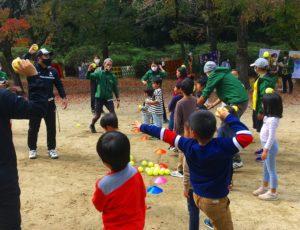 【報告】11/8(日)キッズ向けイベント「スポーツしながら国際交流」を開催しました